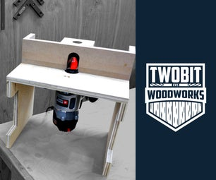 How to Build a Portable Router Table | DIY Woodworking Shop Project