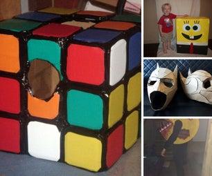 Cardboard Halloween Costumes