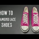 How to Diamond Lace shoes