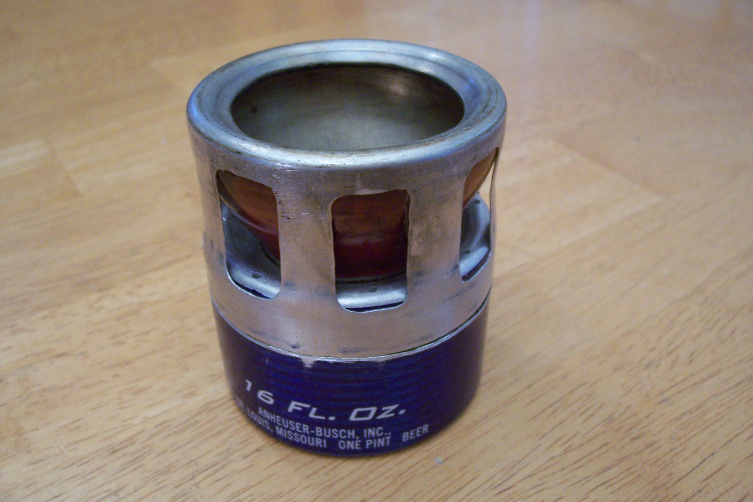 Aluminum Bottle Alcohol Stove