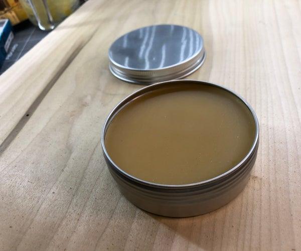 Natural Beeswax Wood Polish