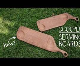 SCOOPED SERVING BOARDS
