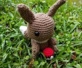 Crochet Eevee Pokemon