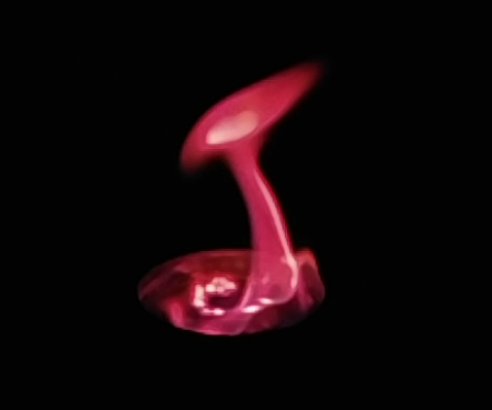 How to make red flames