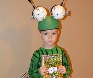 Easy 'Fly Guy' Book Series Kids Halloween Costume - Frankenfly