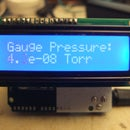 Arduino Inverted Magnetron Transducer Readout