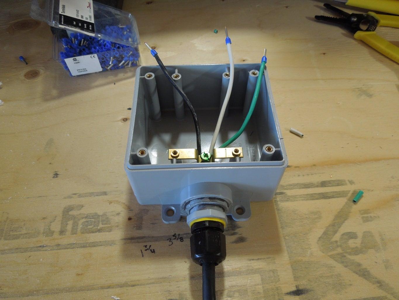 Thread the Wire Into the Device Box