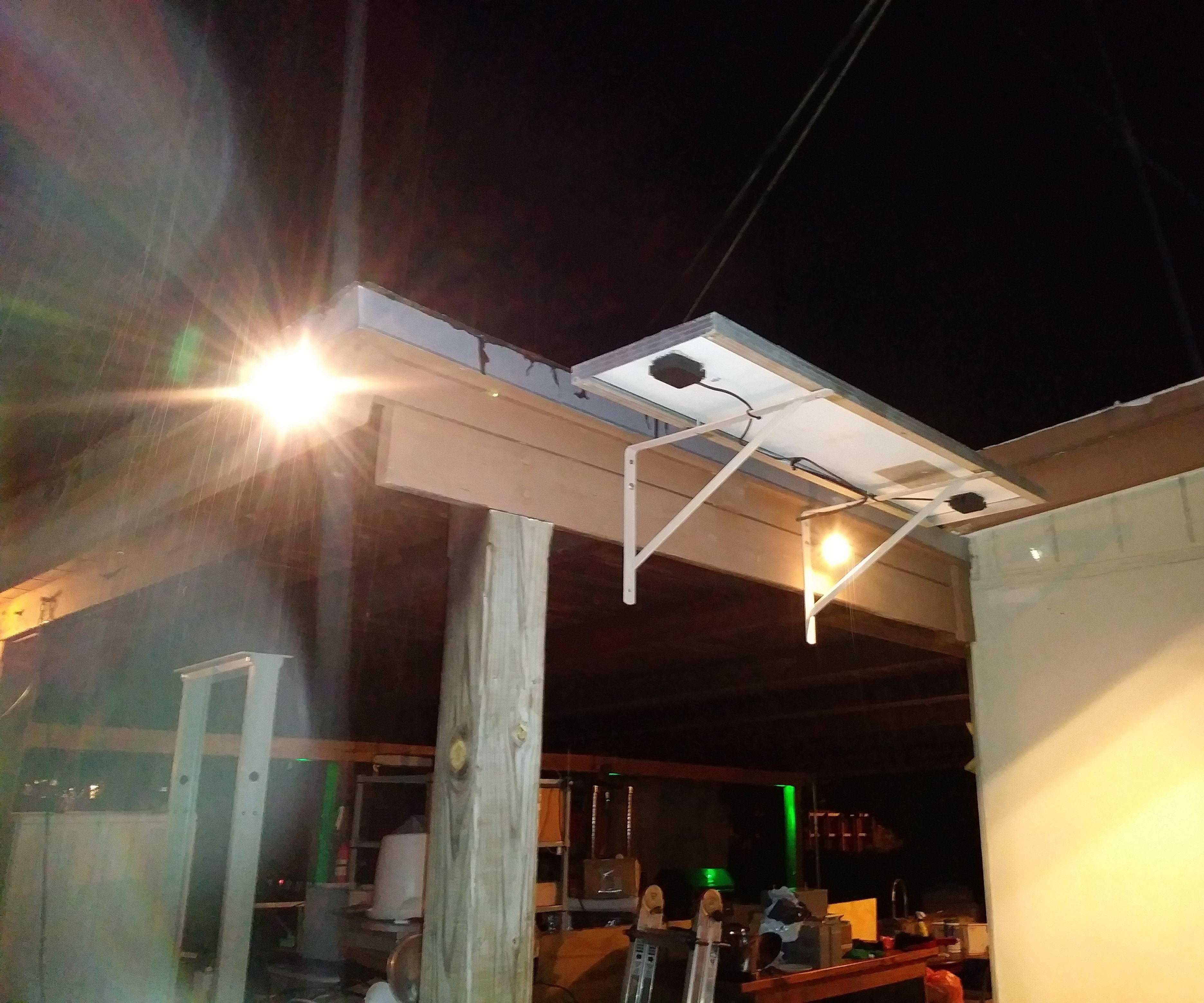 Solar Powered Led Yard Lighting Made Cheap Easy 9 Steps With Pictures Instructables