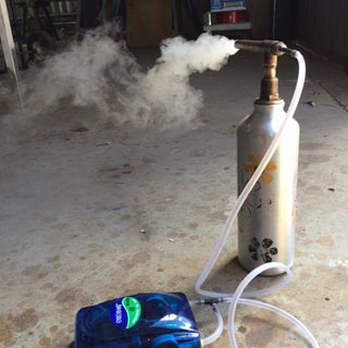 Cold Smoker From Cocktail Shaker
