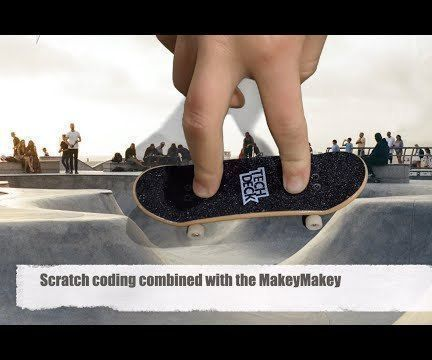 Makey Makey and the Tech Deck