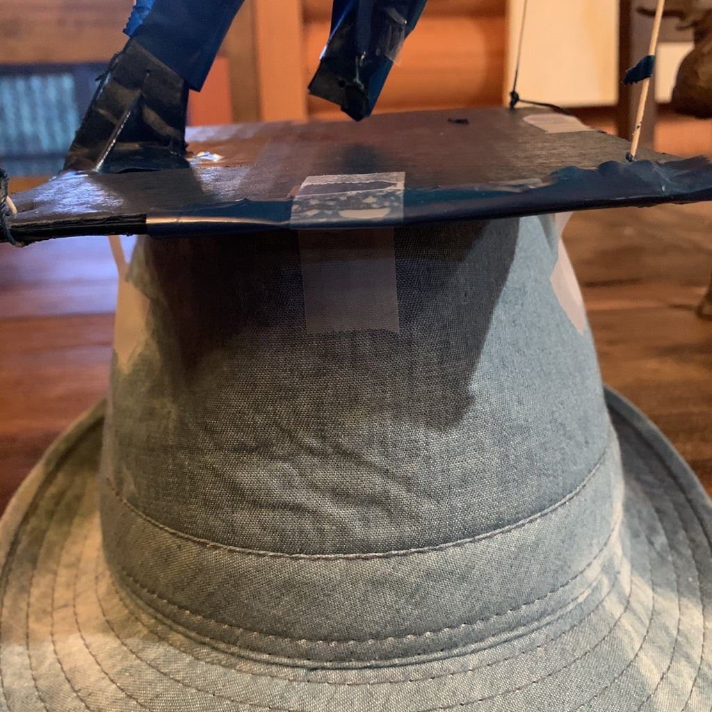 Attach Structure to the Hat