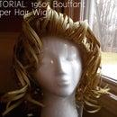 TUTORIAL: 1960s Bouffant Paper Wig