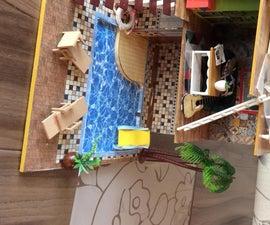 Mini Doll/accessory House