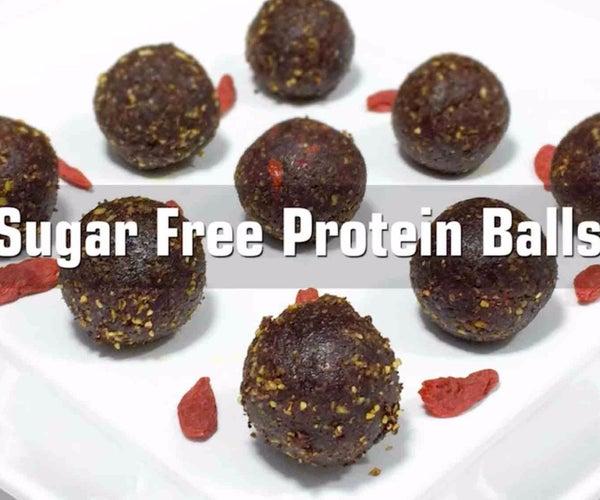 Sugar Free Protein Balls Video Recipe
