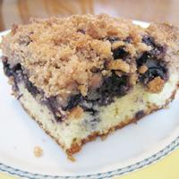 Seasonal Blueberry Cake