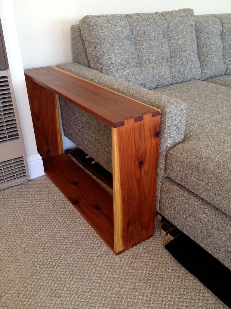 End Tables Made From Fencing Boards