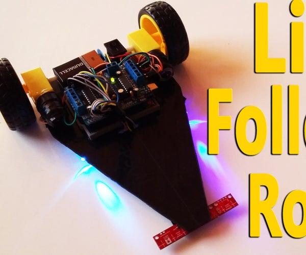 Arduino - Line Follower Robot