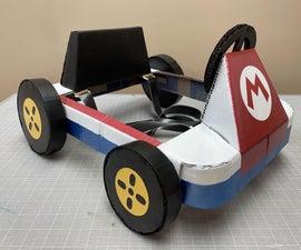 Cardboard Mario Kart Costume