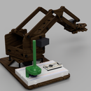 Controlling Robot Arm With TLV493D, Joystick And, Arduino