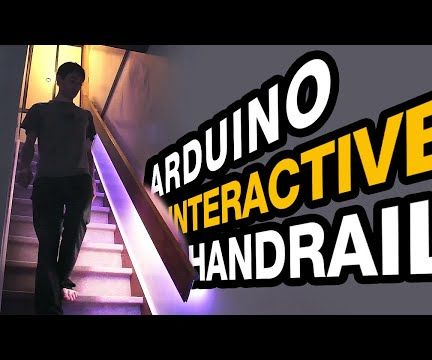 Interactive Handrail With Arduino