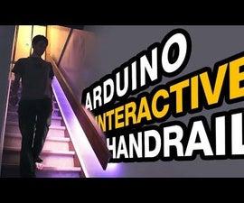 Interactive Handrail With Arduino