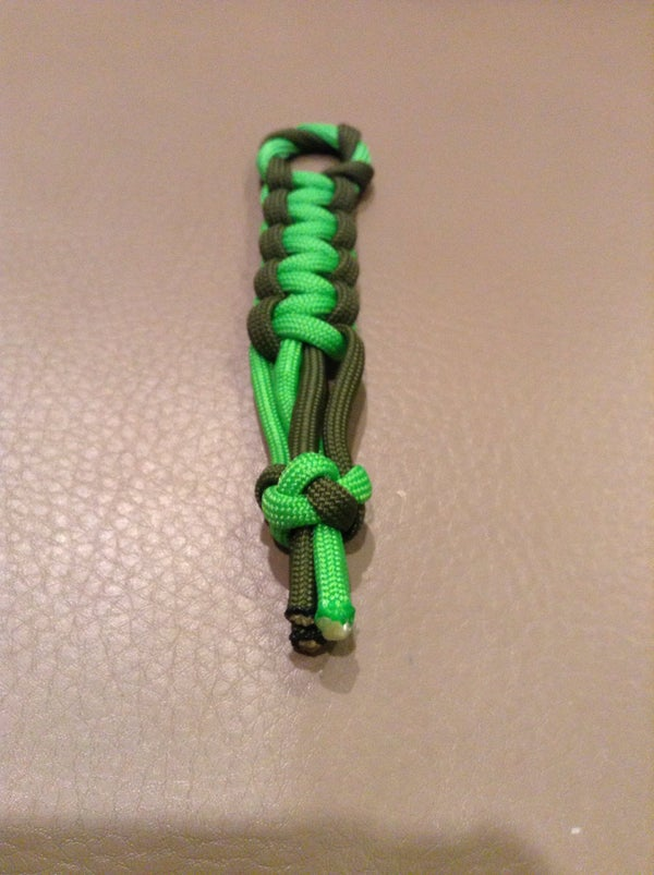Paracord Two Tone Fob
