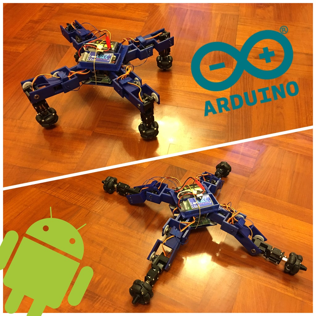 Spiderbot V2 Robot Car