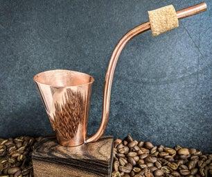 糖-一个咖啡冲泡管