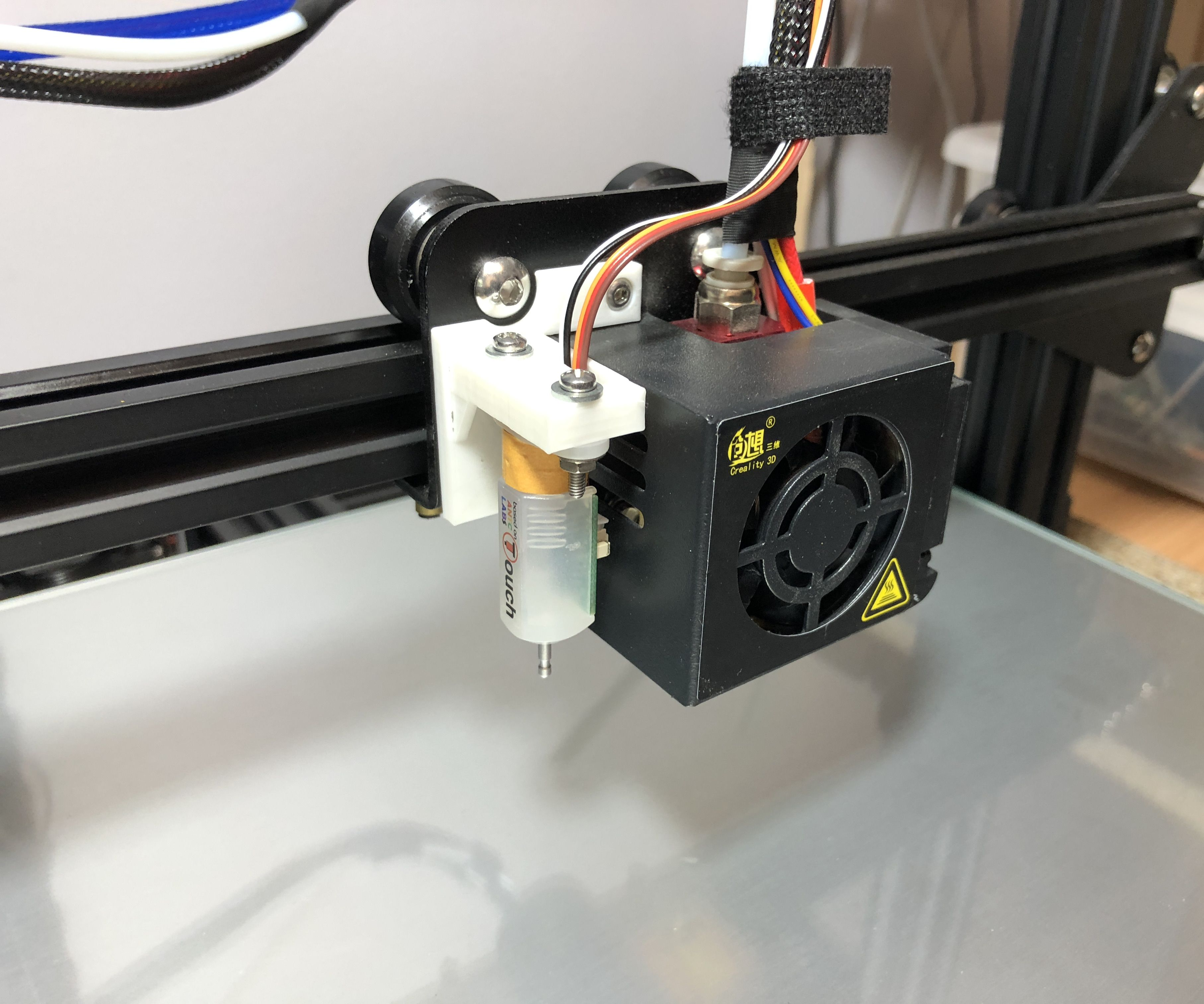 Installing BLTouch Auto Bed Leveling on the Creality CR-10 3D Printer
