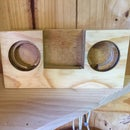 Wooden Music Amplifier