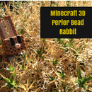 Minecraft Perler bead Rabbit