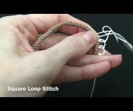 Armenian Knotted Lace - Square Loops
