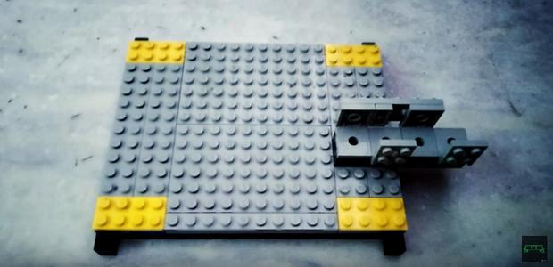 Build a U-shaped Holder for the Laser