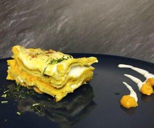 Pumpkin Lasagne (or Ravelloni*)