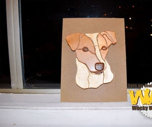 Intarsia Jack Russel - Makers Care 2016