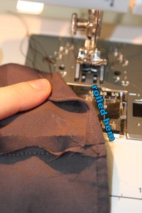 Step 3: Add Fabric to Make Shorts Legs Wider