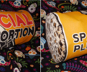 Upcycled Social Distortion Cylinder Clutch