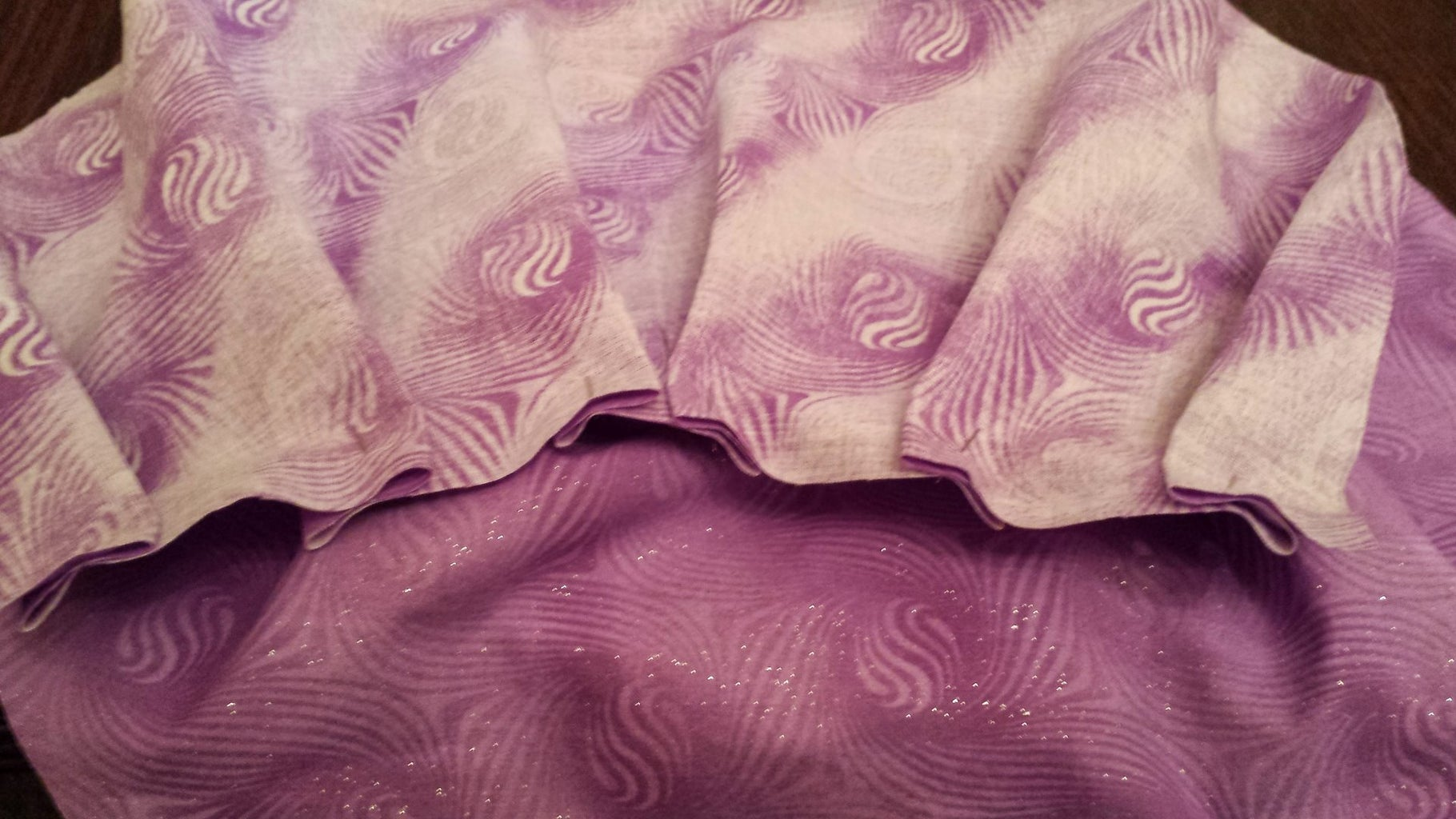 Pin and Sew Pleats of Main Pieces