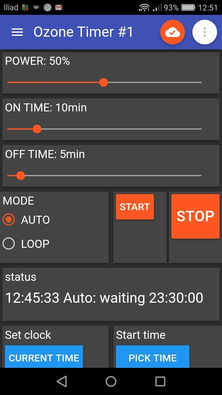 PDM Timer: Android Client