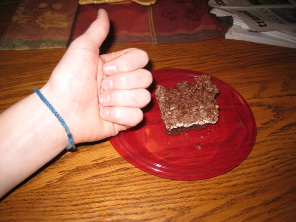 Greatest Three Layer Brownies!
