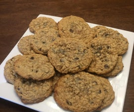 Easy Oatmeal Chocolate Chip Cookies