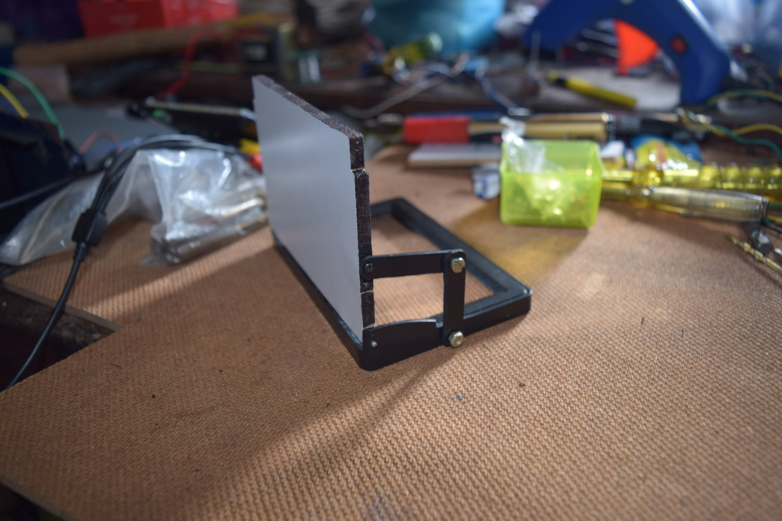 Building the Support for Mirror Adjustment