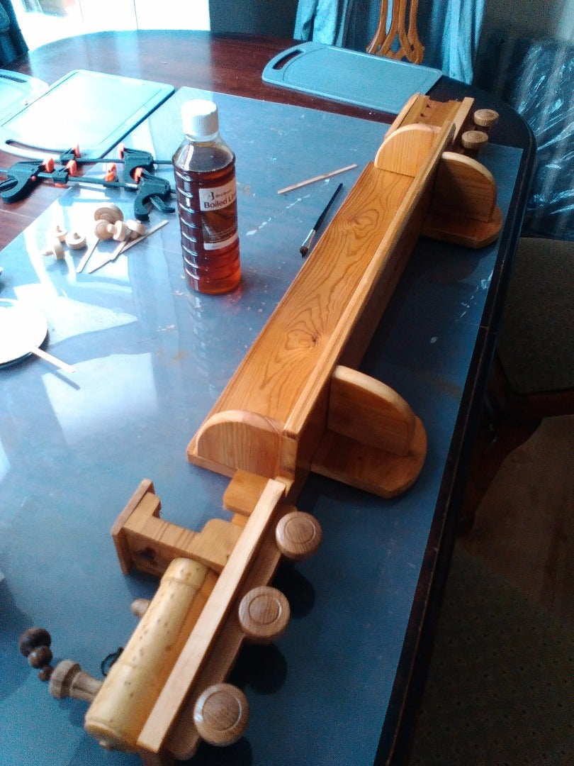 Finishing (Gluing and Oiling)