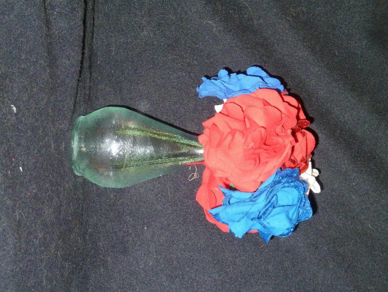DIY Patriotic Flowers