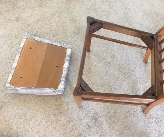 Make It Your Own! Custom Reupholster a Chair Cushion