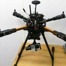 Adding HML650 retractable landing gear to HK X650F quadcopter