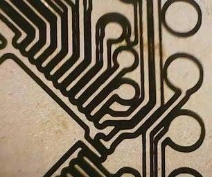 在Snapmaker 2.0上用激光掩模法制作SMD PCB