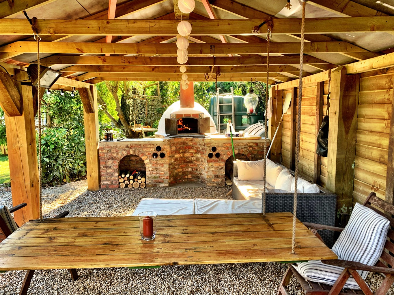 Pizza, Wood Fired Oven Build