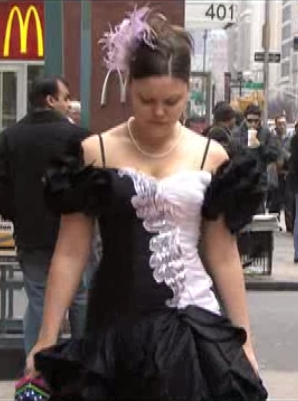 How To Take an Old 80's Prom Dress and Make it 2008!