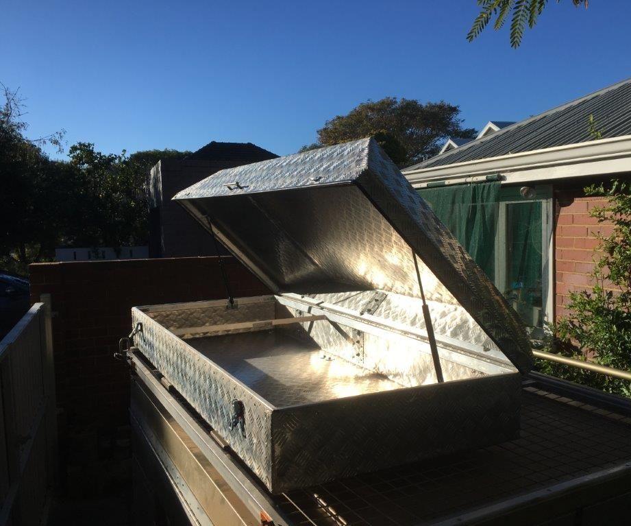 Bending Large Aluminium Sheet Without a Brake / Building a Car Roof Storage Pod / Box